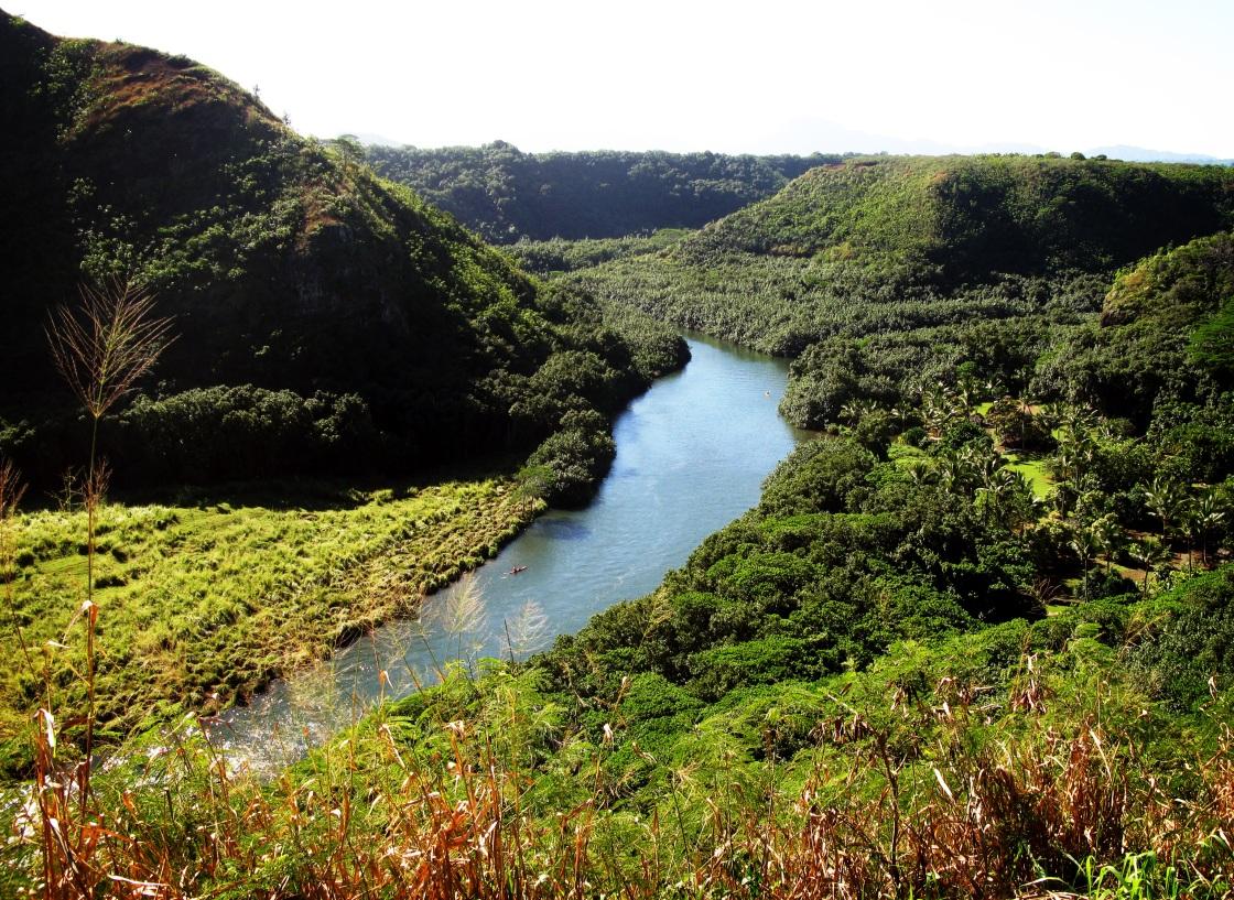 Wailua River, Kauai.
