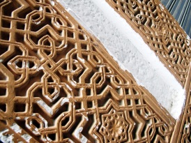 Arabesque-like details in the Albayzin.