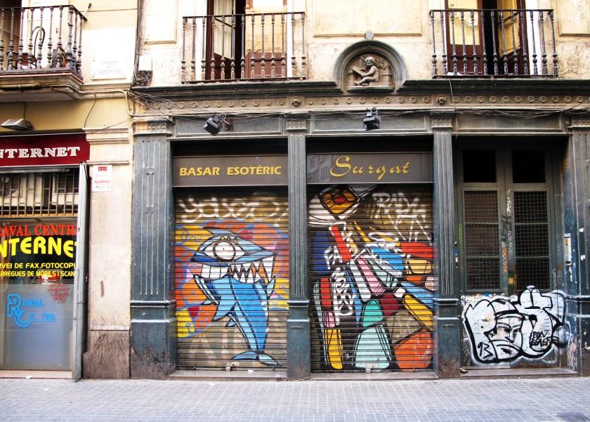 Street Art, El Raval, Barcelona.