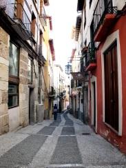 An alleyway in Granada, Spain.