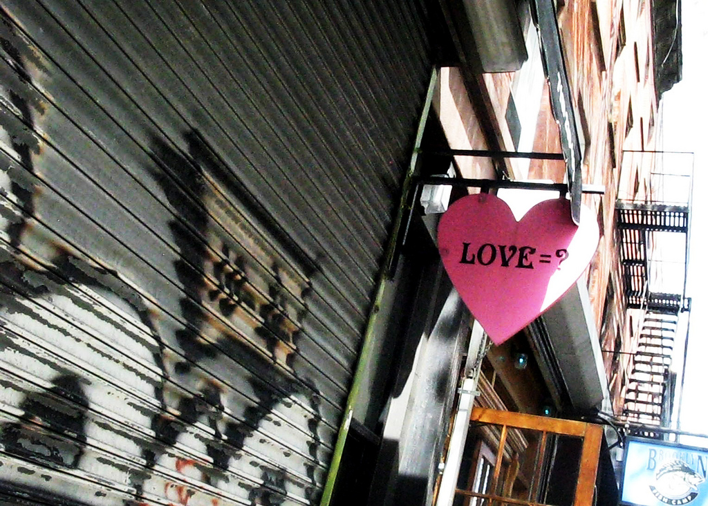 Love. Park Slope, Brooklyn. 2010.