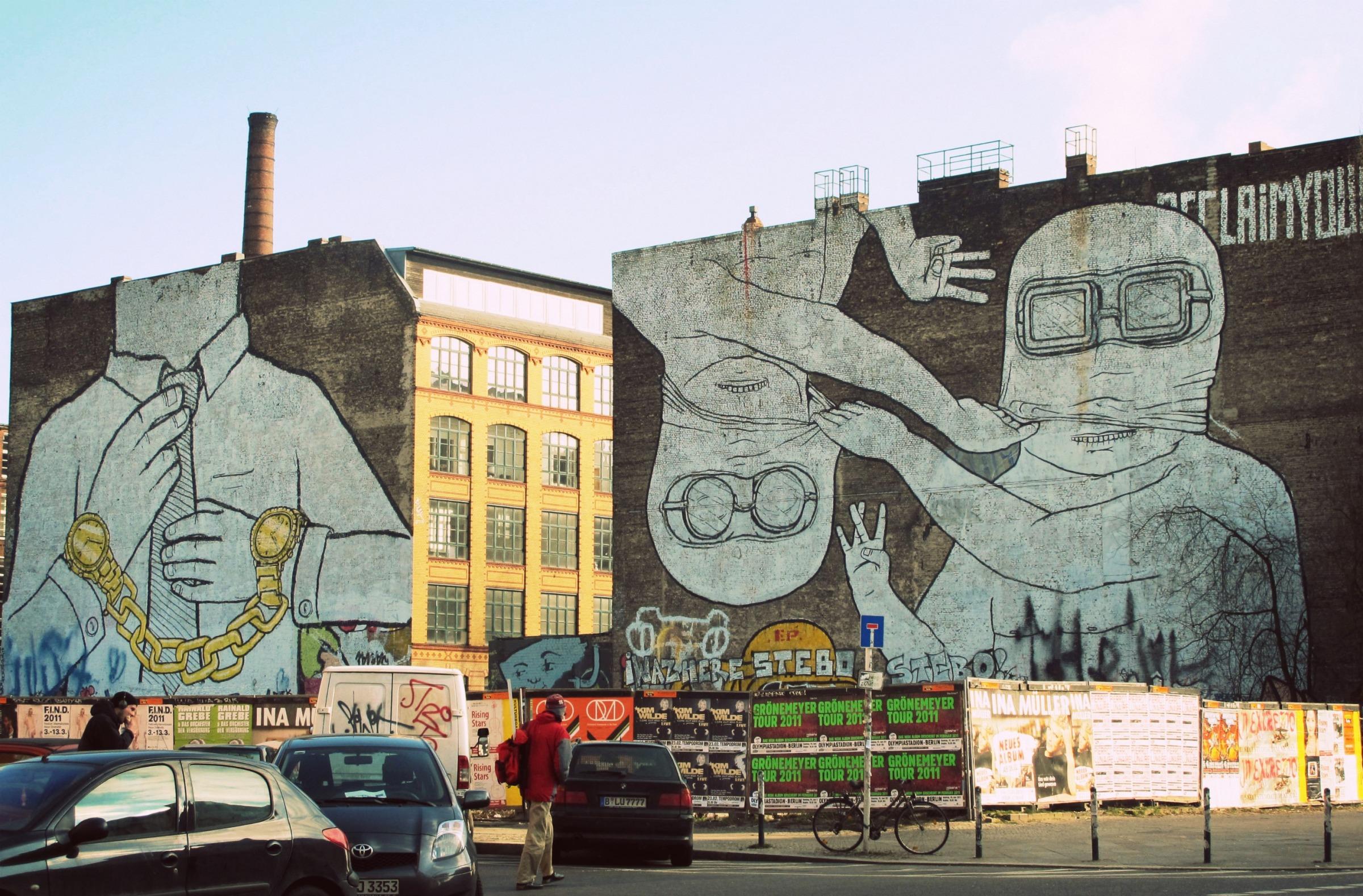 Blu, Friedrichshain, Berlin.