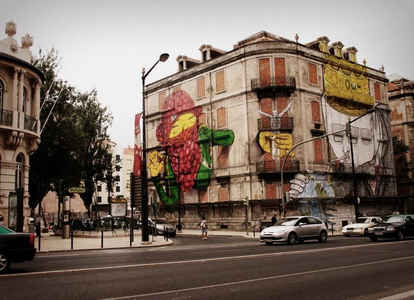 Blu in Lisbon