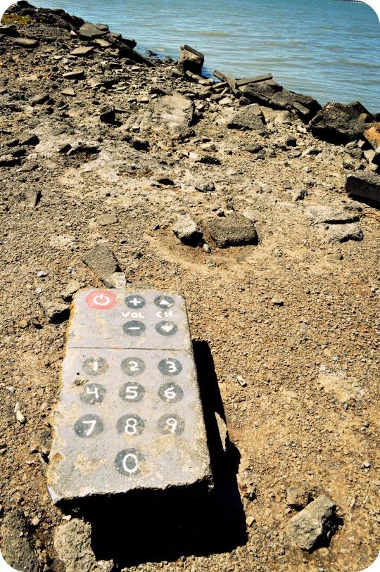 remote control rock