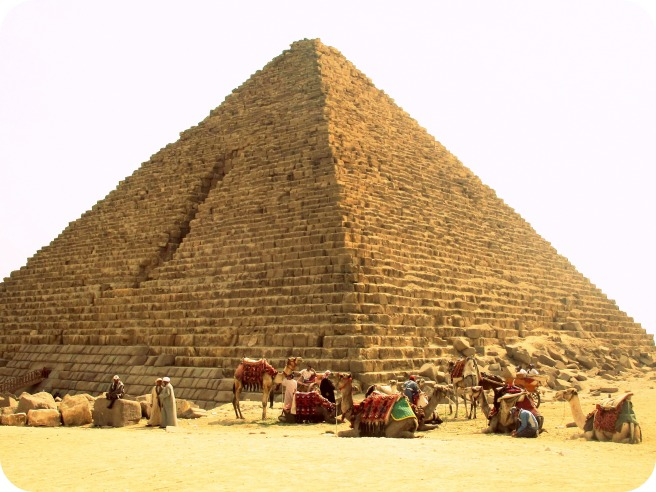 pyramid at giza