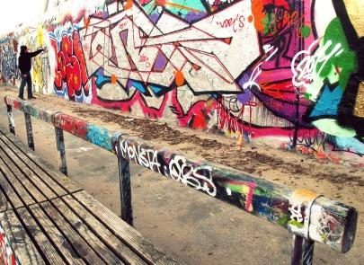 At Work, Hinterland Mauer, Berlin.