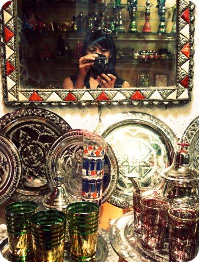 Granada mirror reflection