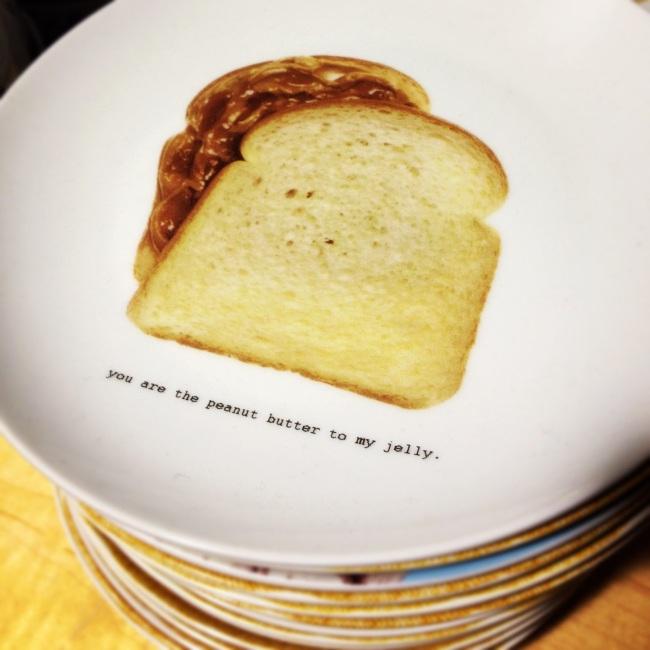 PB+J sandwich