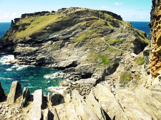 Tintagel Castle, Cornwall.