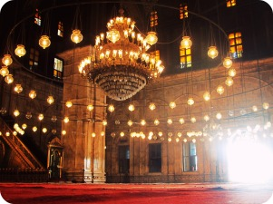 Mosque of Muhammad Ali, Cairo.