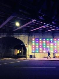 Near Southwark Bridge, London.
