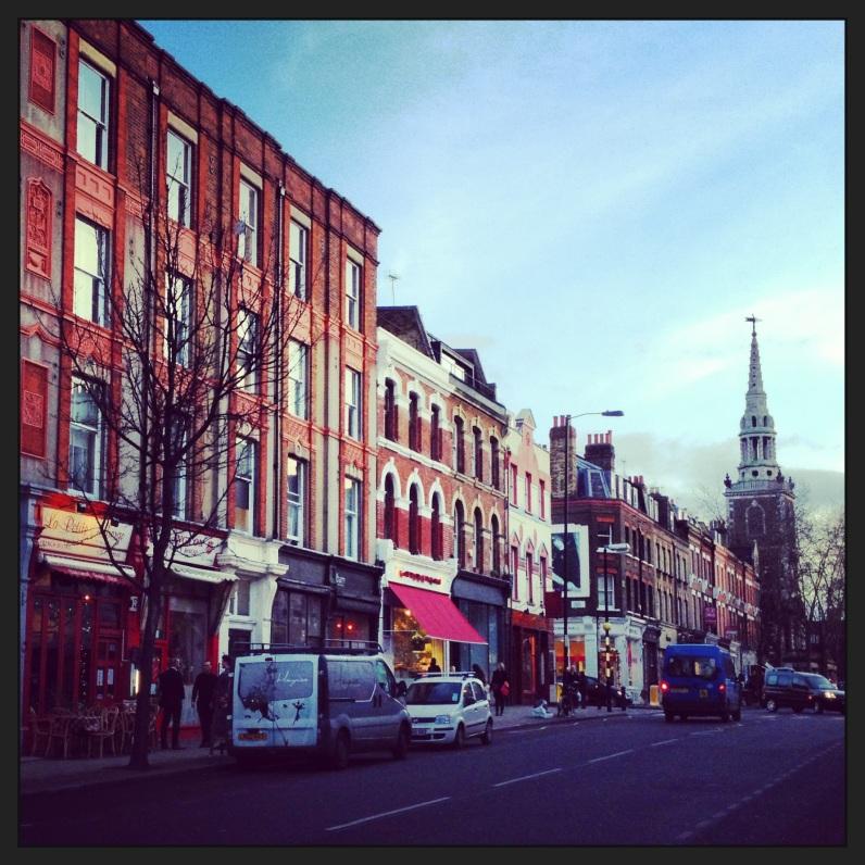 Upper Street, Islington, London.