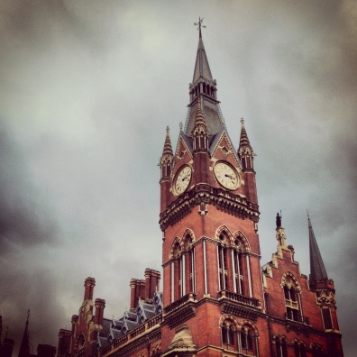 St. Pancras Station, London.