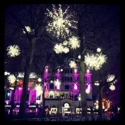 Leicester Square, London.