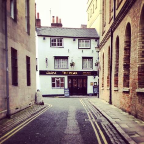 The Bear, Oxford.