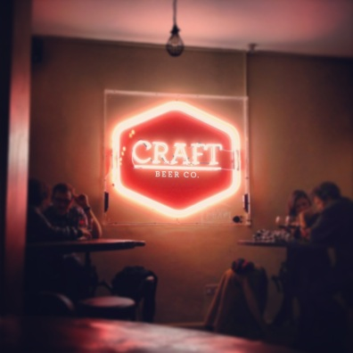 Craft Beer Co., Brixton, London.