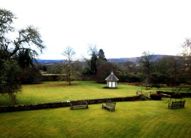 View from my bedroom. Brahan Estate, Scotland.