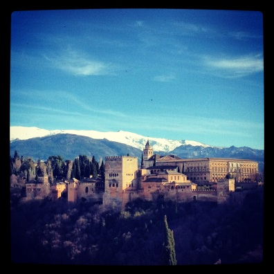 Alhambra from Afar