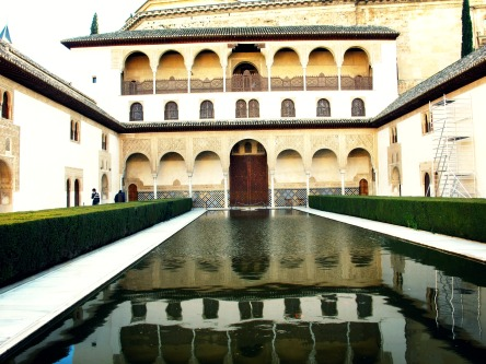 Courtyard and Water