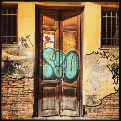 Tagged Door