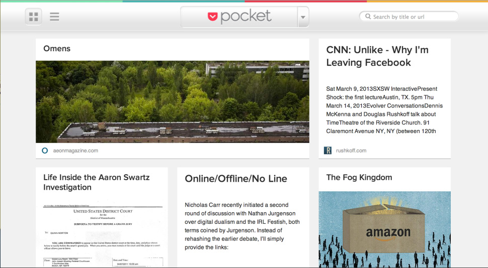 Pocket Queue