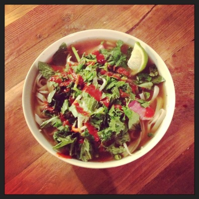 Homemade Pho, Felix & Chester's House of Edibles