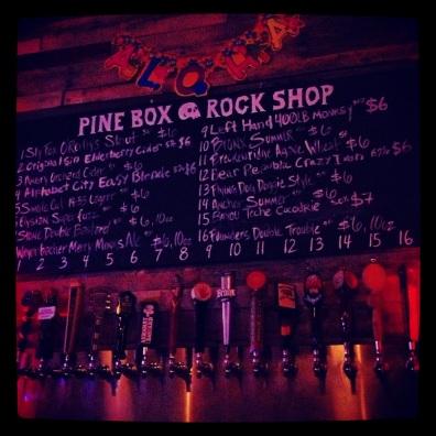 Pine Box, Bushwick