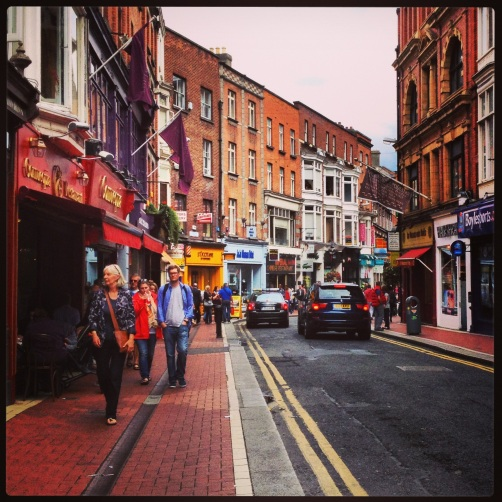 Exchequer Street, Dublin.