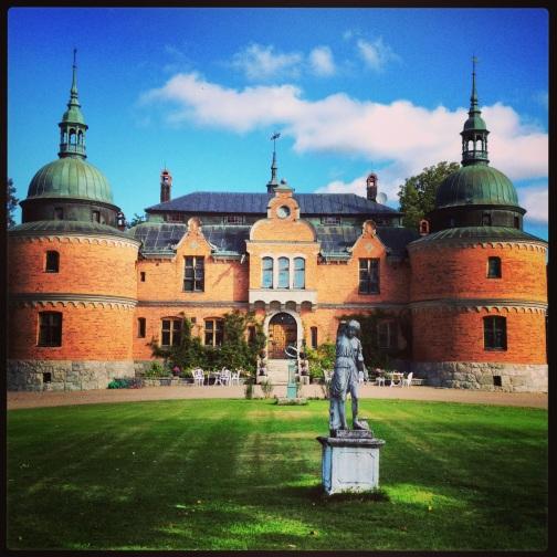 A view of Rockelstad Castle.