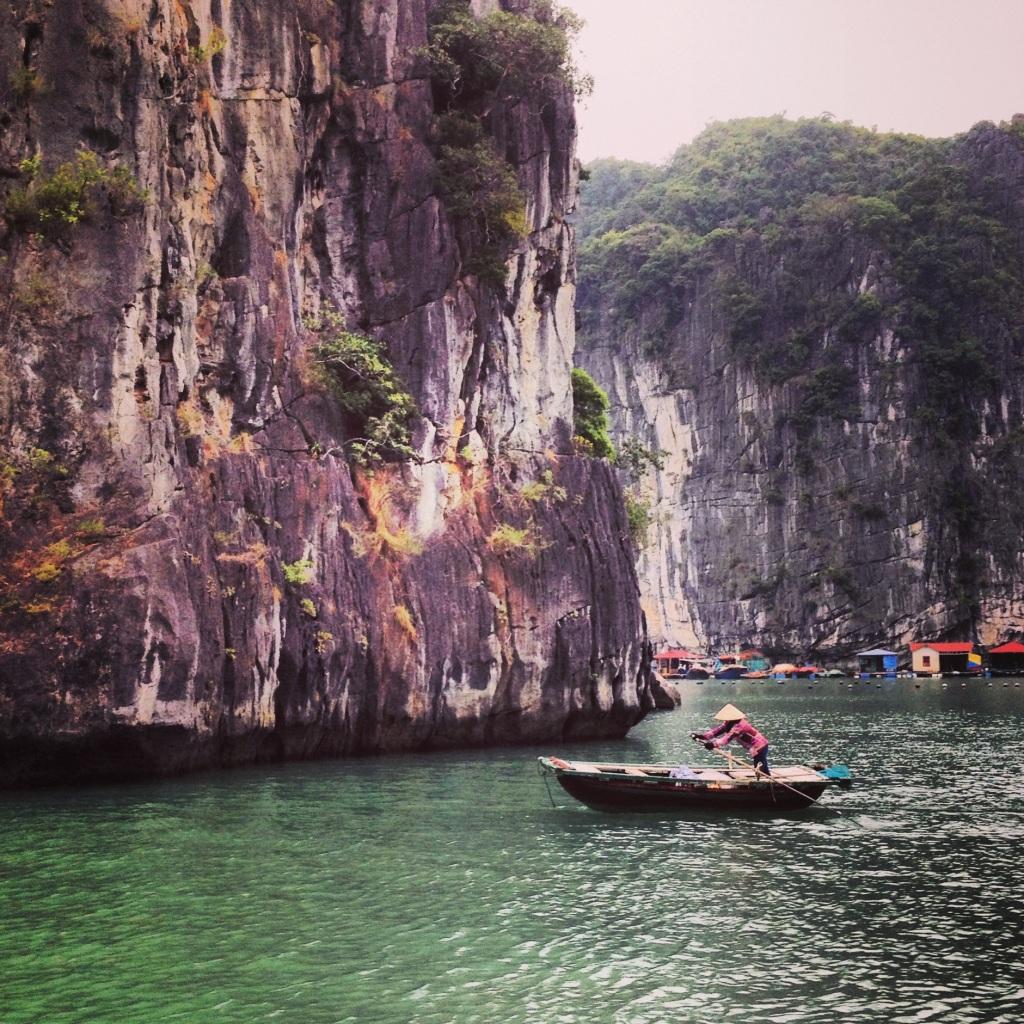 Boat in Vung Vieng