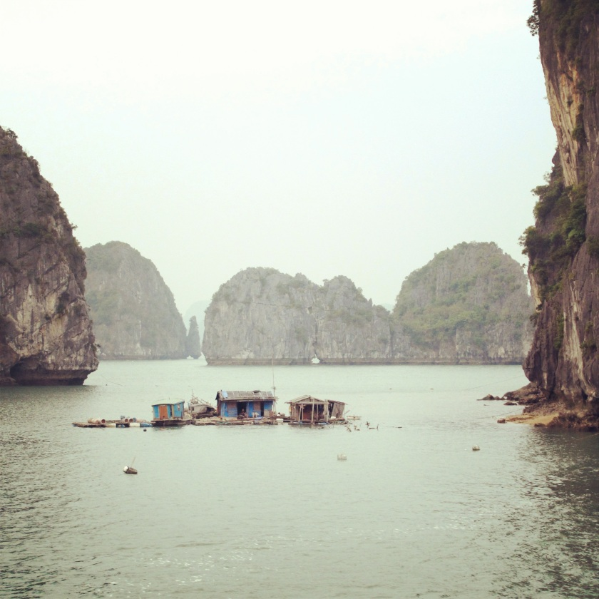 Floating House in Halong Bay