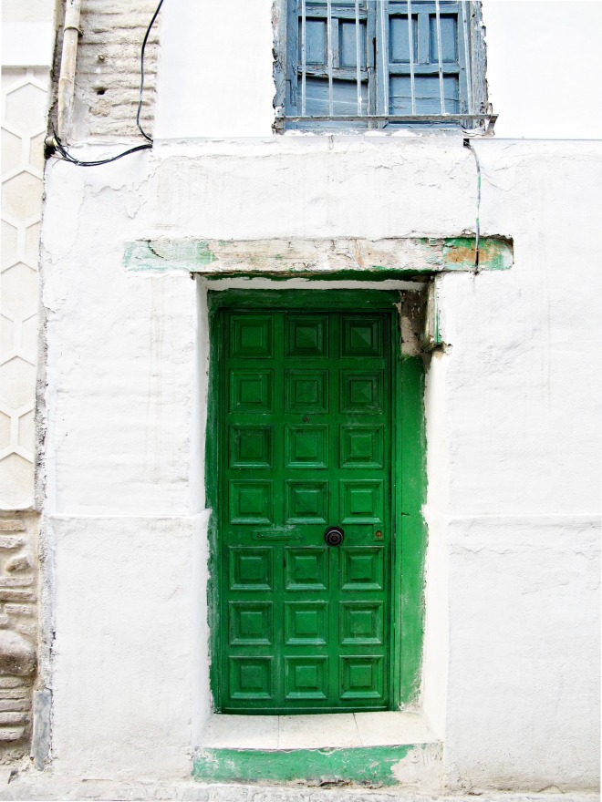 A door in the Albayzin, Granada, Spain.