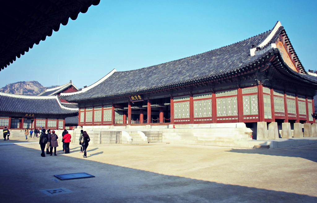 Courtyard at Gyeongbokgung