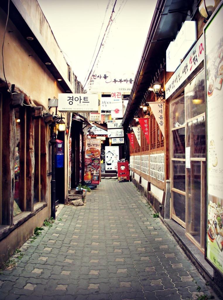 Insadong Alleyway