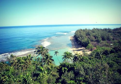 Kee Beach, Na Pali Coast, Kauai
