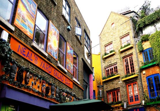 Neal's Yard, Covent Garden, London