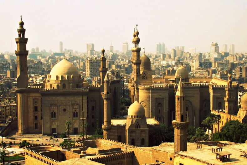 View of Cairo from the Citadel, Egypt