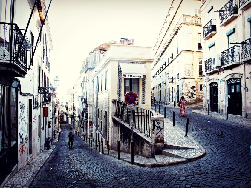 Bairro Alto, Lisbon, Portugal.