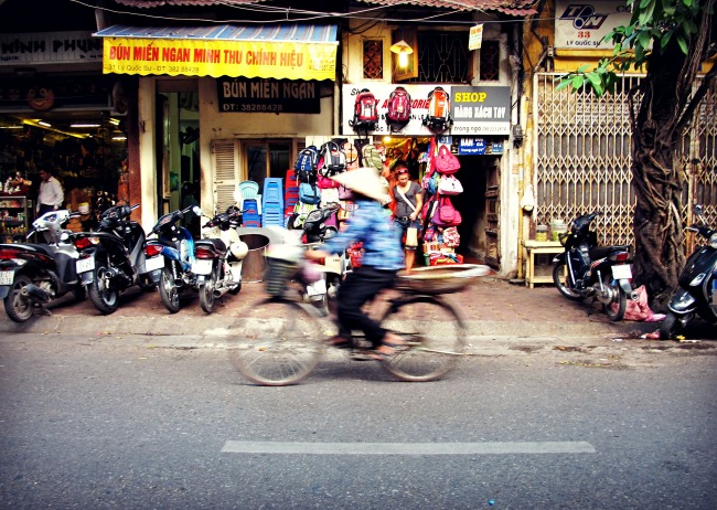 bike blur