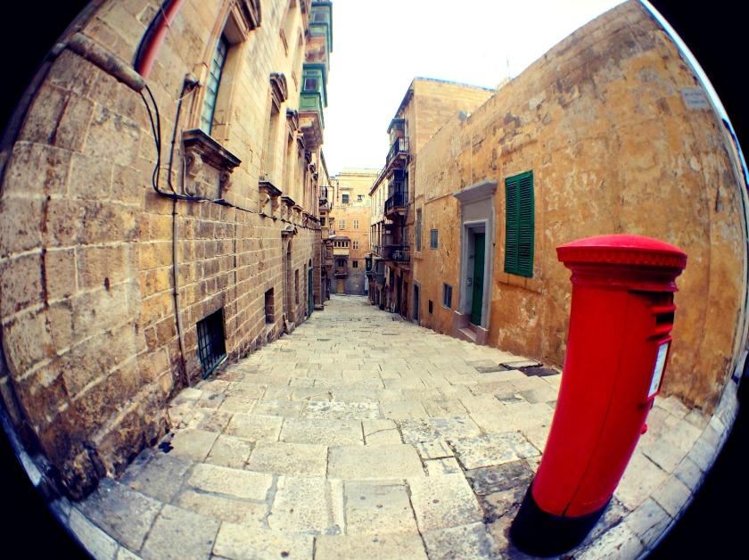 Post box in Valletta