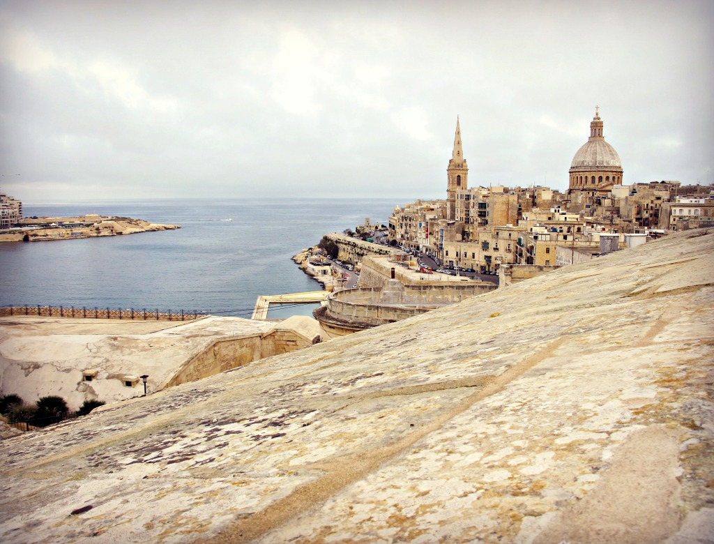 View of Valletta