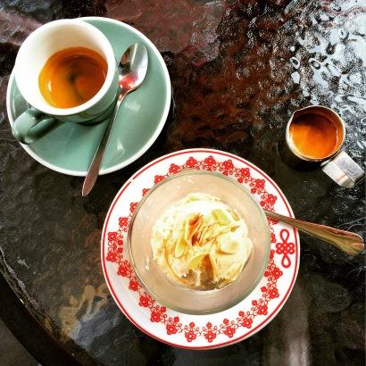Affogato at Cafe Solo.