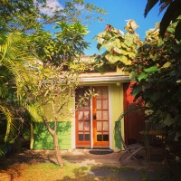 The front entrance of the Kailua Coconut.