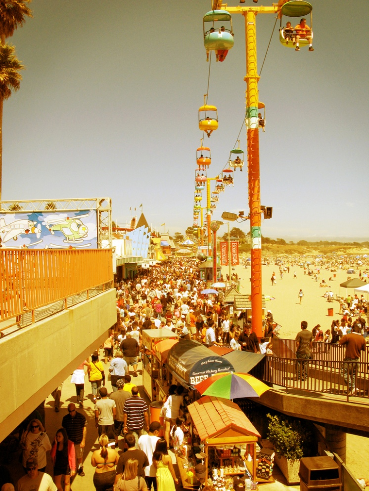 Santa Cruz Boardwalk, California
