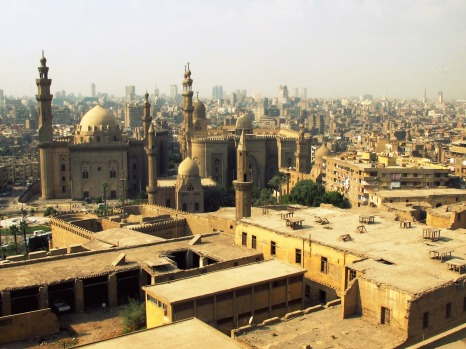Cairo from the Citadel