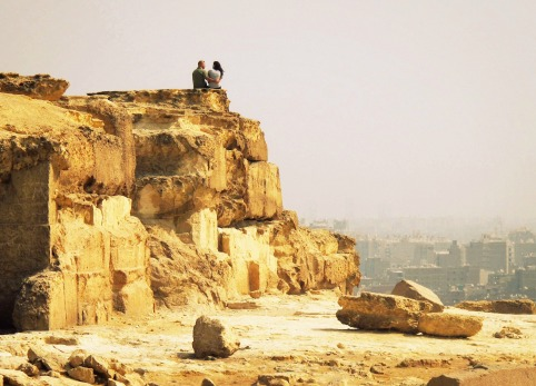 Overlooking Cairo in Giza