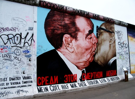 East Side Gallery, Berlin, Germany