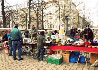 Flohmarkt am Arkonaplatz, Berlin