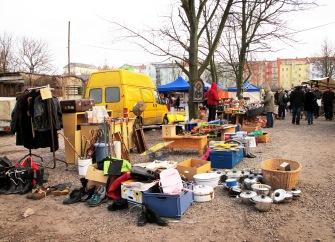 Flohmarkt am Mauerpark, Prenzlauer Berg, Berlin