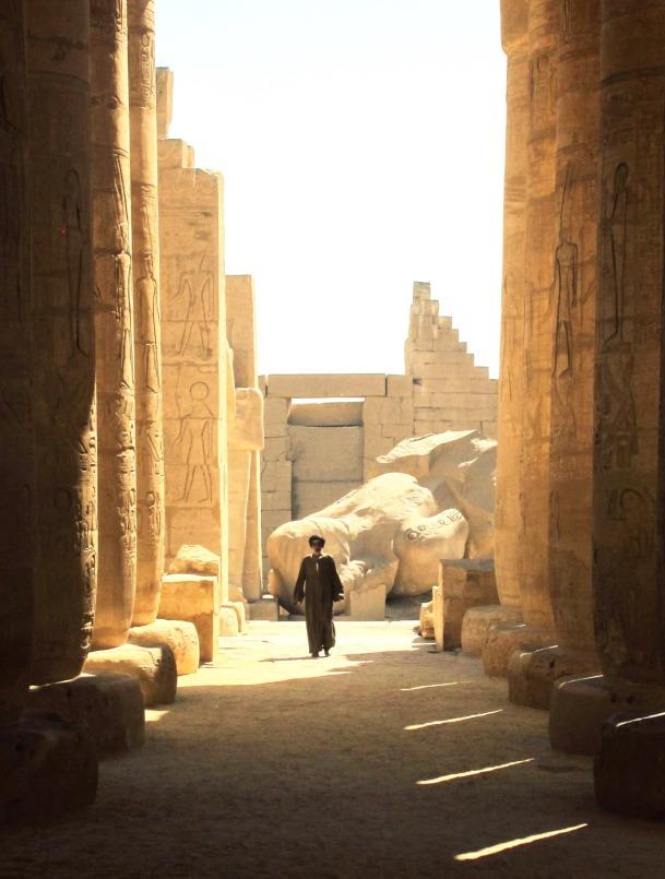 Ramessus Temple, Luxor, Egypt